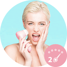 cleansing;toning;firming;smooth skin;clear skin;facial;face;massage;circulation;clear skin; polish