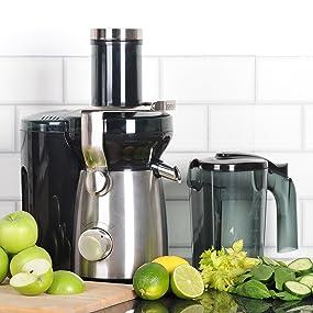 Igenix IG8810 Whole Fruit Juicer, 1000