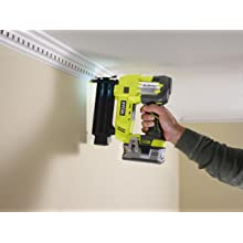 on board LED used when nailing architrave