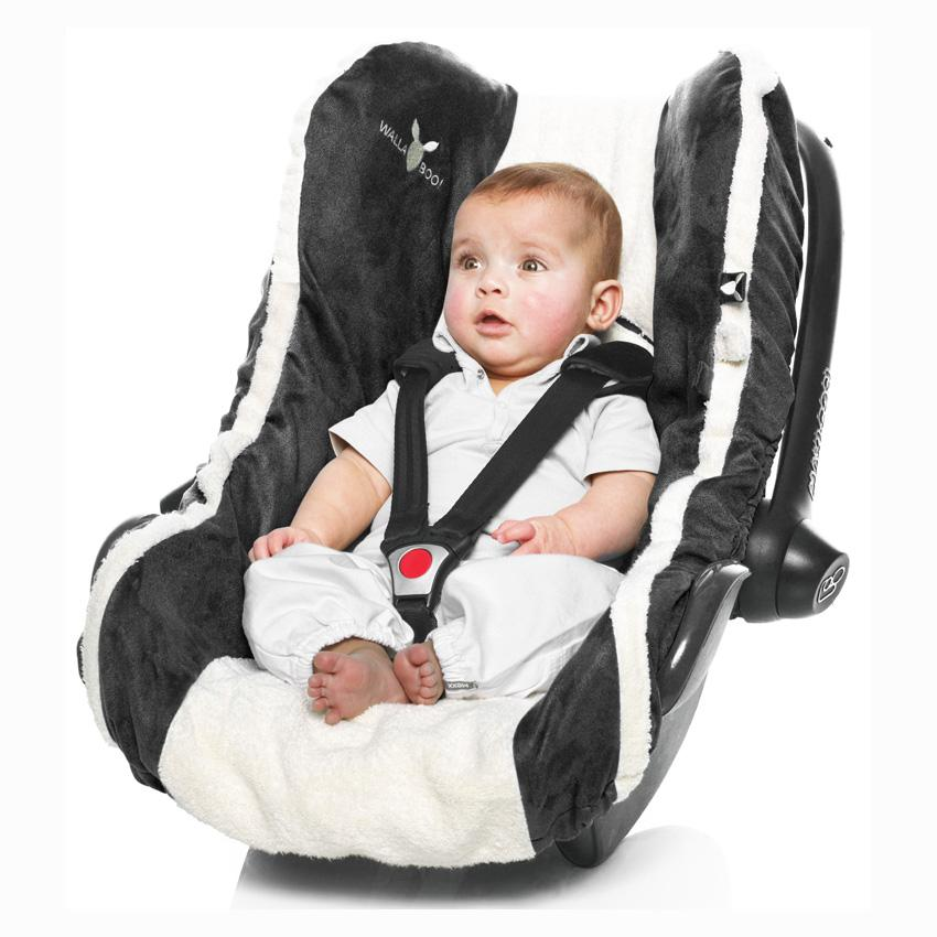 Wallaboo Infant Car Seat Cover: Amazon.co.uk: Baby