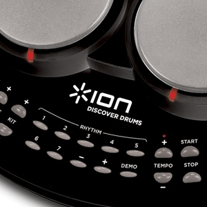 Ion Audio Discover Drums Usb Electronic Drum Kit Practice