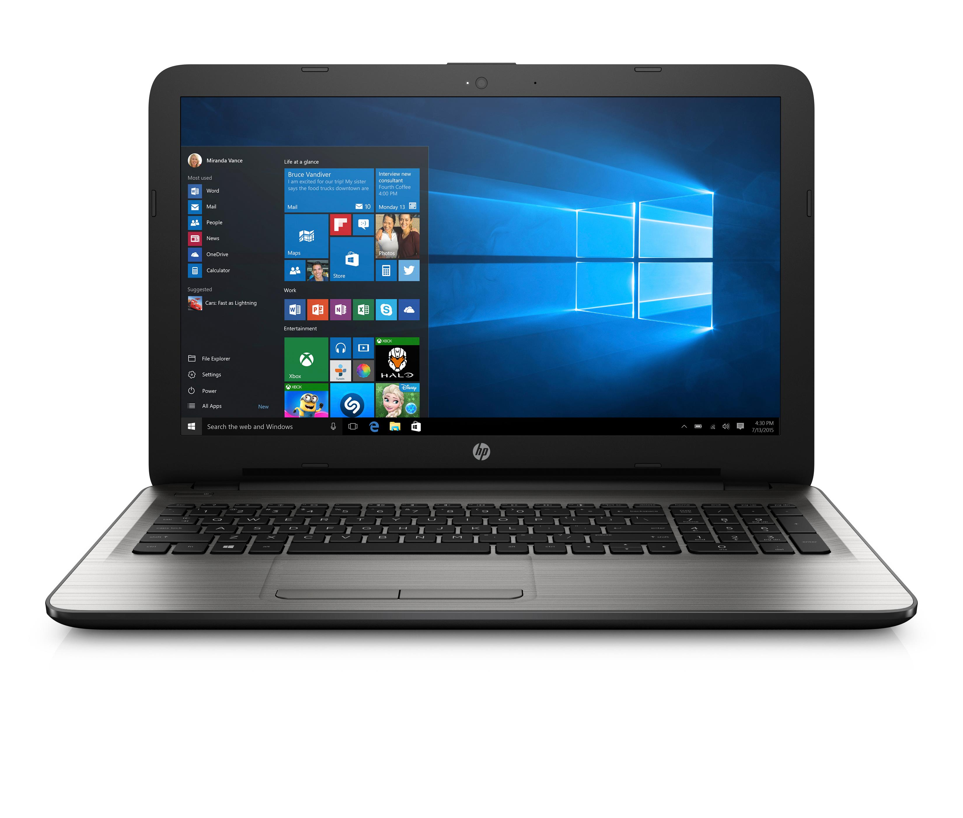 how to change name on hp laptop windows 10
