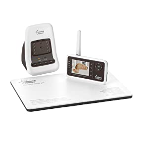 tommee tippee video sensor monitor baby. Black Bedroom Furniture Sets. Home Design Ideas