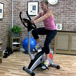 PureFitness & Sports MCL800 Upright Exercise Bike