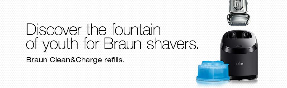 Braun 31B Black Electric Shaver Replacement Foil and Cutter