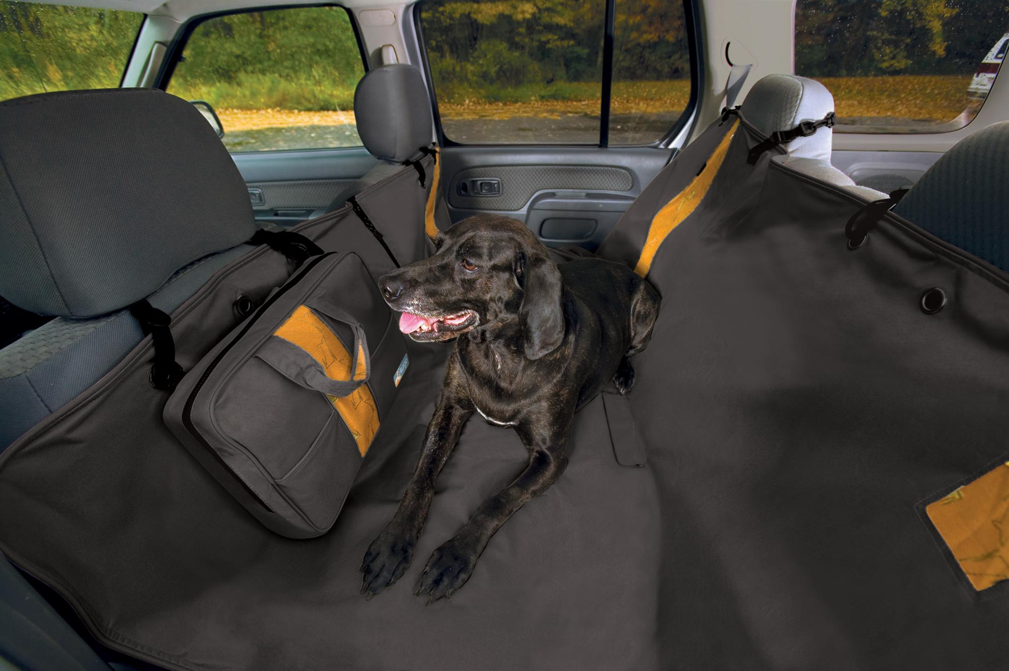 kurgo dog hammock for back seat of car converts to rear seat cover waterproof and scratch. Black Bedroom Furniture Sets. Home Design Ideas
