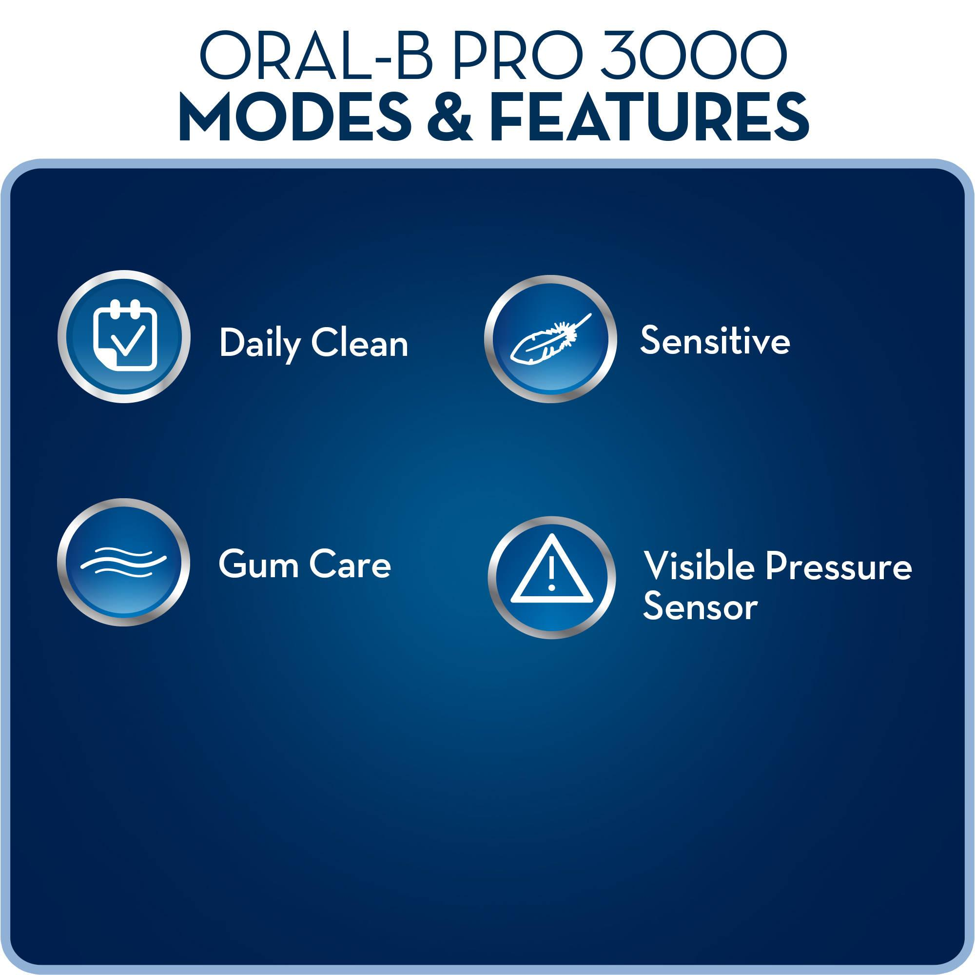 oral b pro 3000 instructions