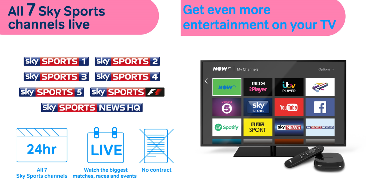 Free 14 Day Trial of the Entertainment Pass at NOW TV - Catch Sick Note, Ballers and Instinct! Start your Entertainment free trial today to watch the hottest shows from Sky One, Sky Atlantic and more.