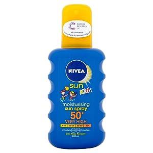 sun cream; sunscreen; after sun; suntan lotion; children