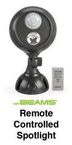 mr beams spotlight with remote control, wireless remote control spotlight