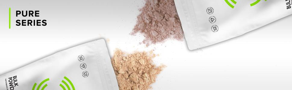 bulk powders, pure series, supplements