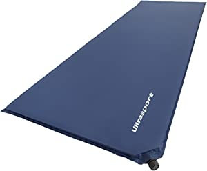 Self Inflating Matras : Ultrasport self inflating mat air mattress that inflates itself