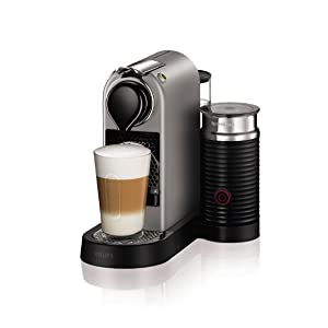 Nespresso Coffee Maker User Manuals : Nespresso by KRUPS XN760B40 Nespresso Citiz and Milk Coffee Machine, 1710 W - Silver: Amazon.co ...