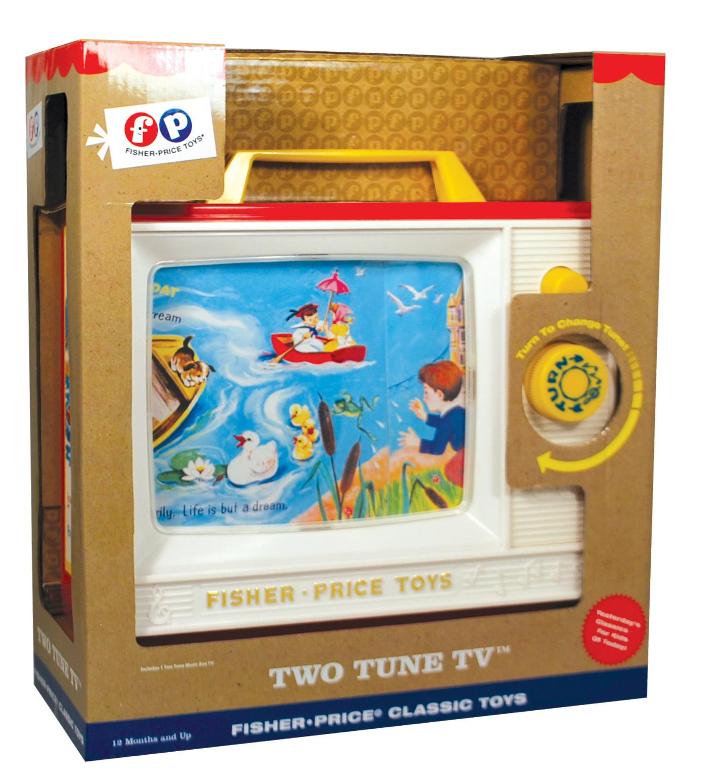 Fisher Price Fisher Price Classics Two Tune Television Amazon