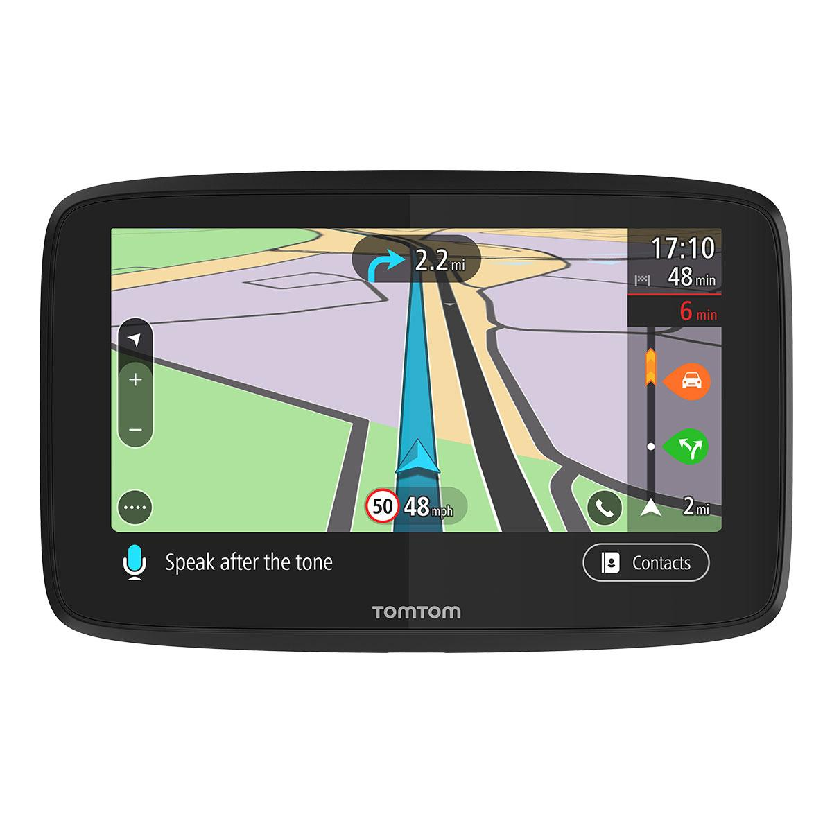 tomtom go 5200 with wifi lifetime world maps traffic handsfree sim and data included