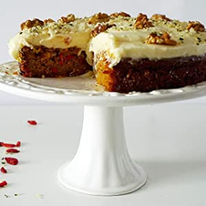 Carrot Goji Cake Cream Cheese Icing Hemp seed Walnut, Sevenhills Wholefoods, hemp seeds, goji