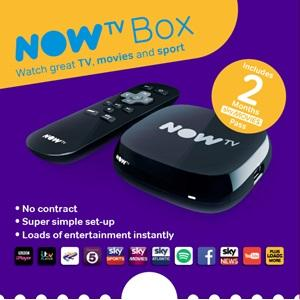 NOW TV box, sky tv, 2 months movies pass, two month movies pass