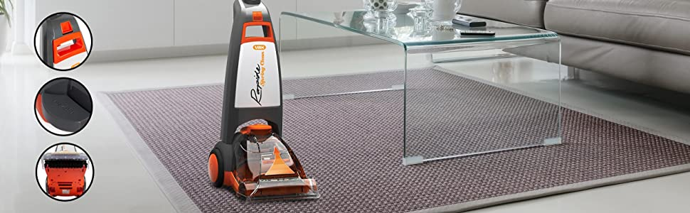 Vax Rapide Spring Clean Carpet Washer, Static Brush Bar, 700W