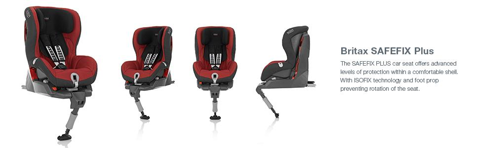 Britax, SAFEFIX Plus, car seats, harness indicator, easy installation, belted seat, foot prop