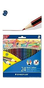 Noris colour coloured pencils