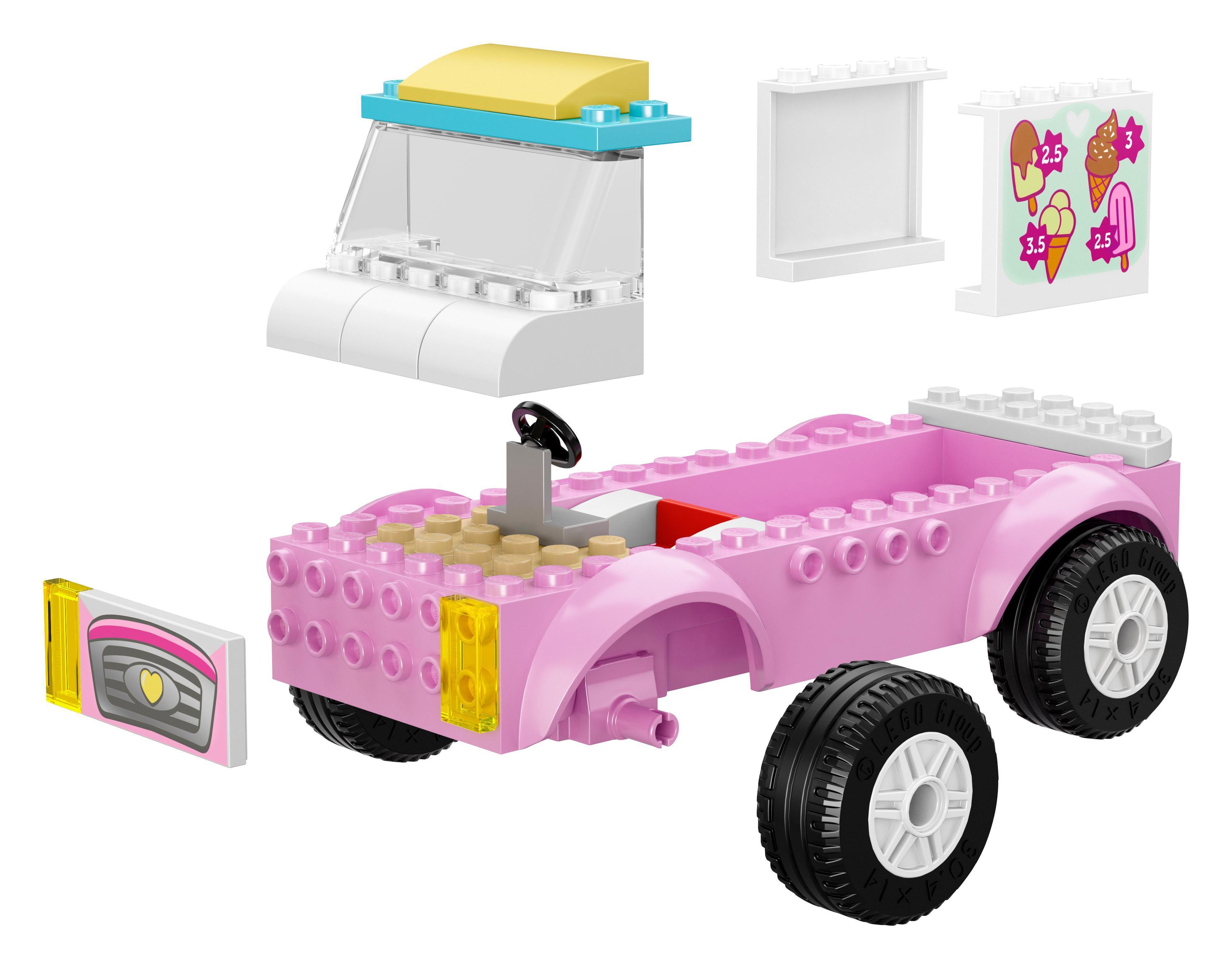 LEGO 10727 Juniors Emma's Ice Cream Truck: Amazon.co.uk ...