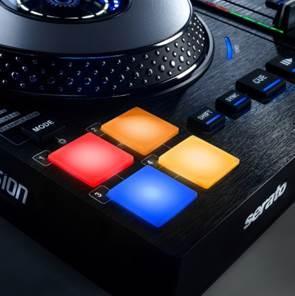 Drum Pads, 4 Sets Drum Pads, DJ Drum