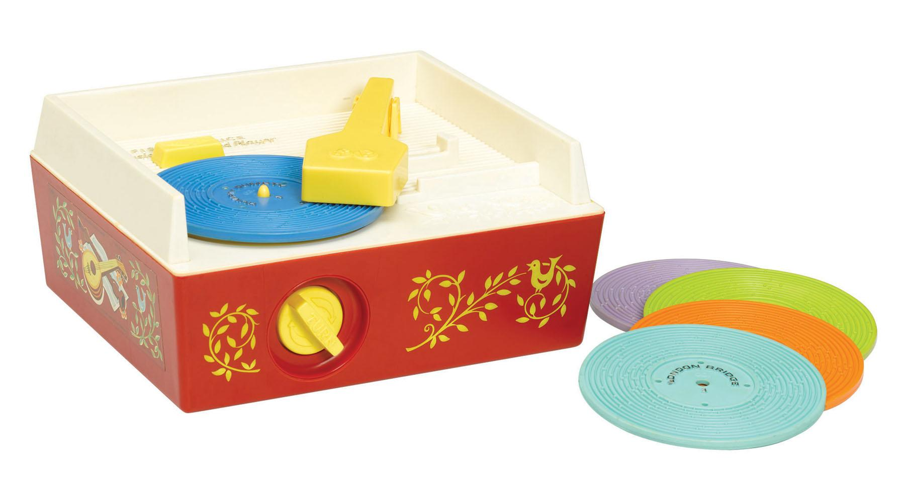 Classic Fisher Price Toys : Fisher price bfi classics record player amazon