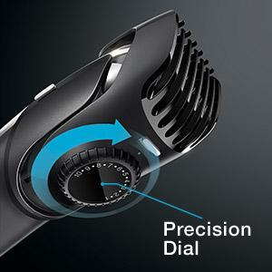 Braun BT5050 beard trimmer with precision dial