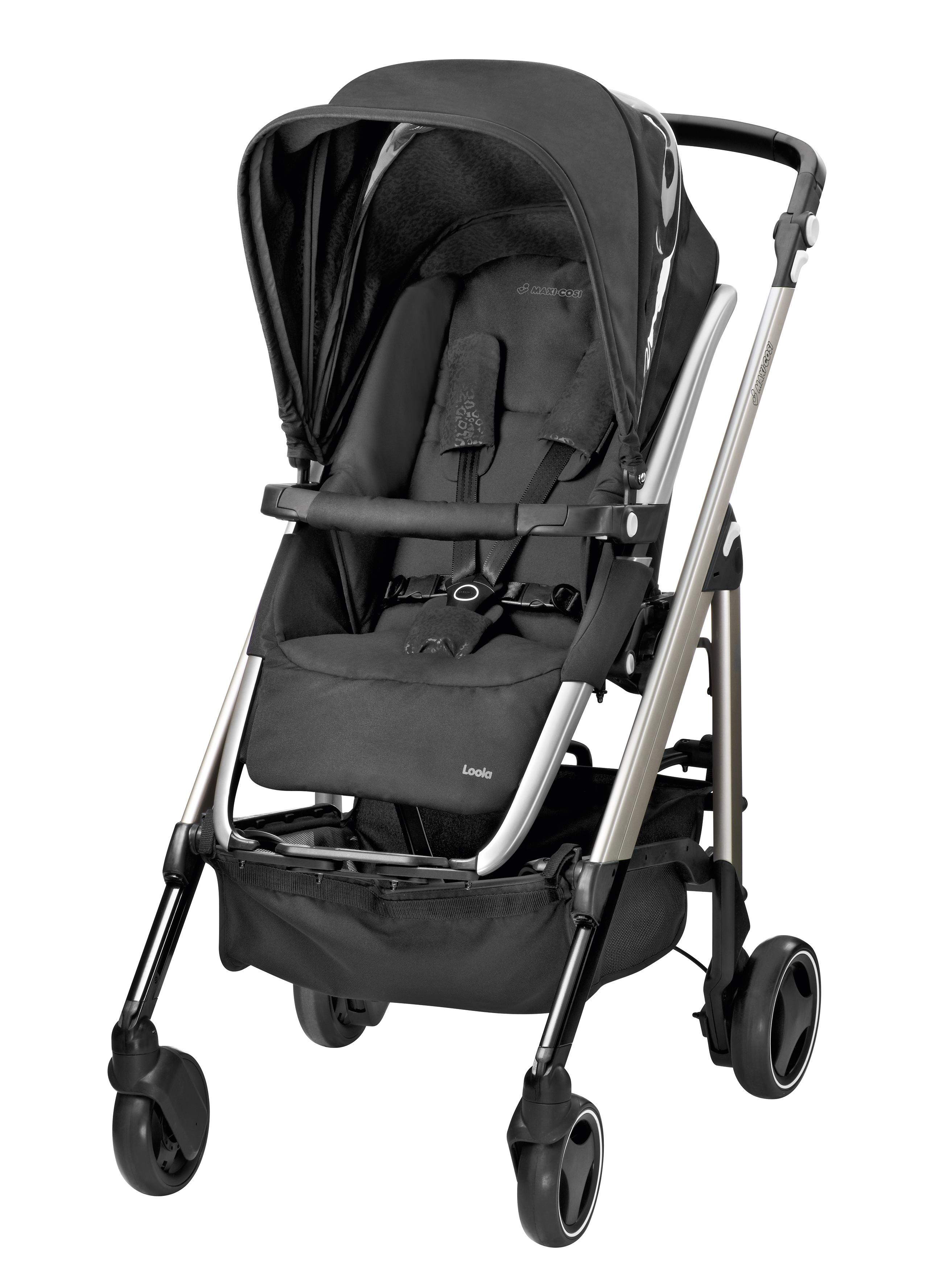 maxi cosi loola pushchair modern black baby. Black Bedroom Furniture Sets. Home Design Ideas