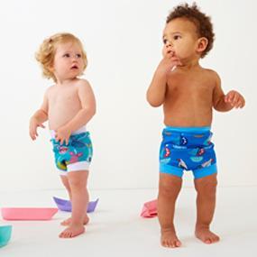 happy nappy, splash about, neoprene swim nappy, baby swimming