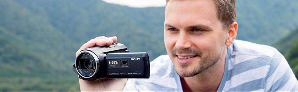 Sony, HDR-PJ410, Full hd camcorder built-in progector, 30x optical zoom