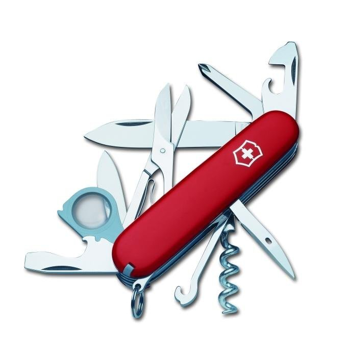 Victorinox Explorer Army Knife Red Amazon Co Uk Sports