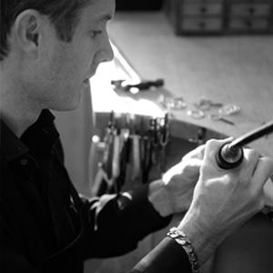 Dower & Hall, Dan Dower, Jewellery, Workshop