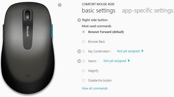 14603803cb1 Microsoft Comfort Mouse 4500: Amazon.co.uk: Computers & Accessories