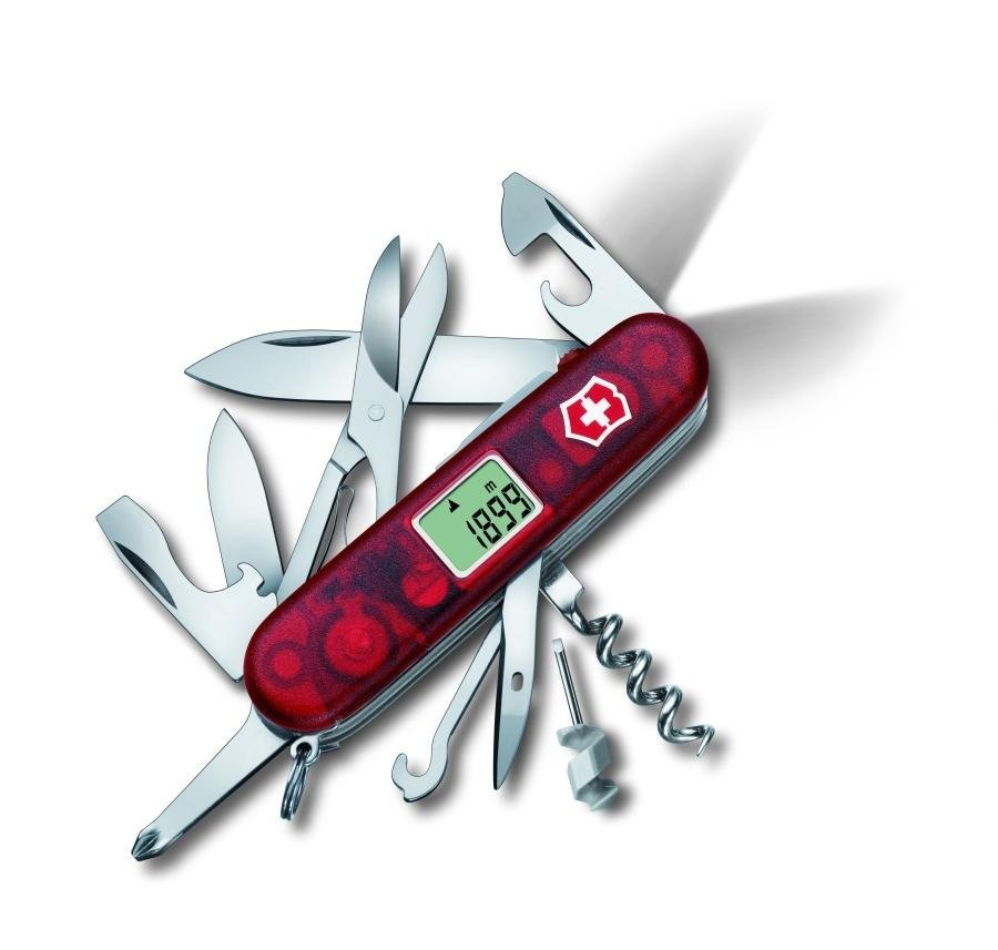 Victorinox Traveller Lite Jelly Red Amazon Co Uk Diy Amp Tools