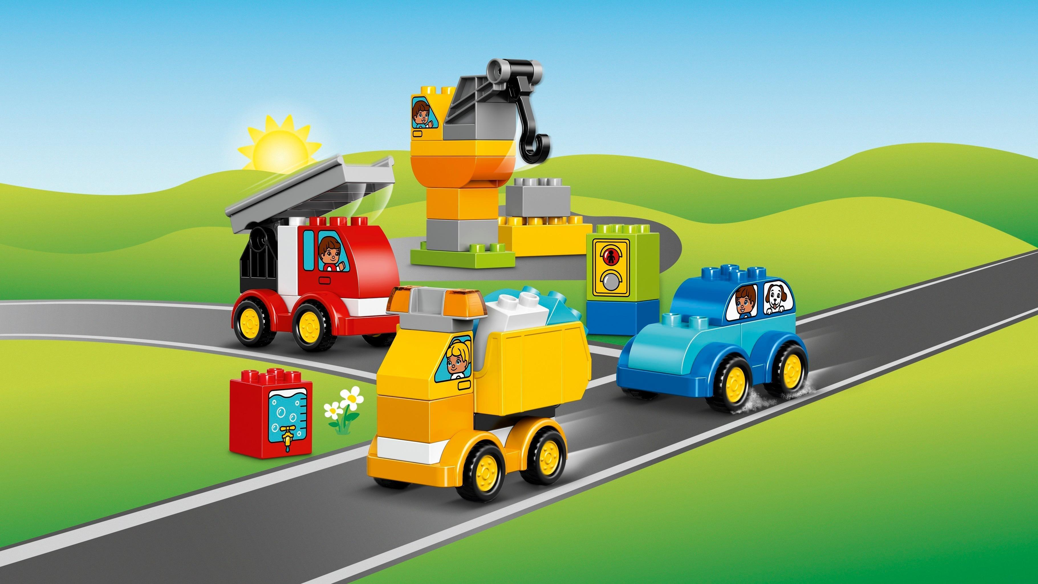 Lego 10816 Duplo My First Cars And Trucks Lego Amazon Co