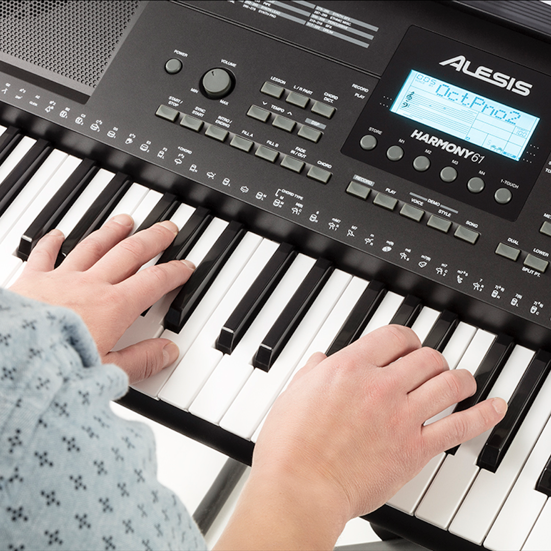 Alesis Harmony 61, Portable Keyboard With 61 Full Size