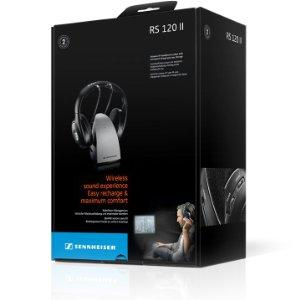 c66920fd042 RS 120 RF Wireless Headphones offer better performance and value. They draw  on decades of Sennheiser engineering expertise to ensure focus on sound  quality, ...