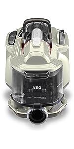 AEG, SilentPerformer Cyclonic Silent, ASPC7160, Bagless, Cylinder, Vacuum