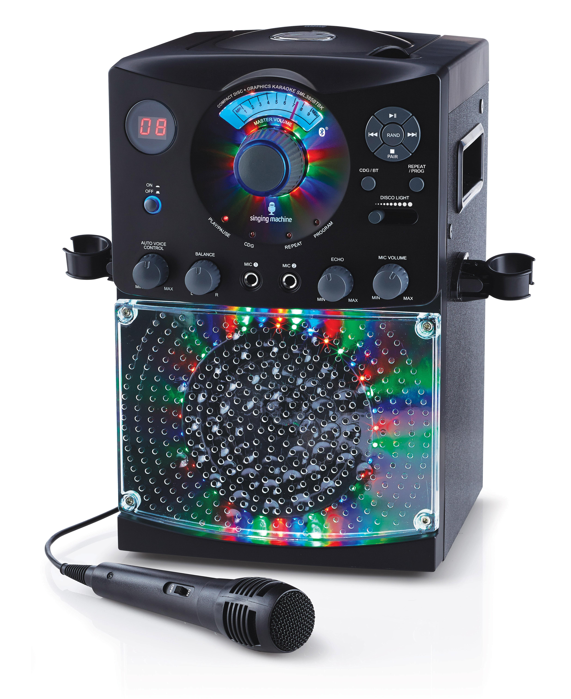 Singing Machine SML385 Karaoke Equipment with Bluetooth 1 ...