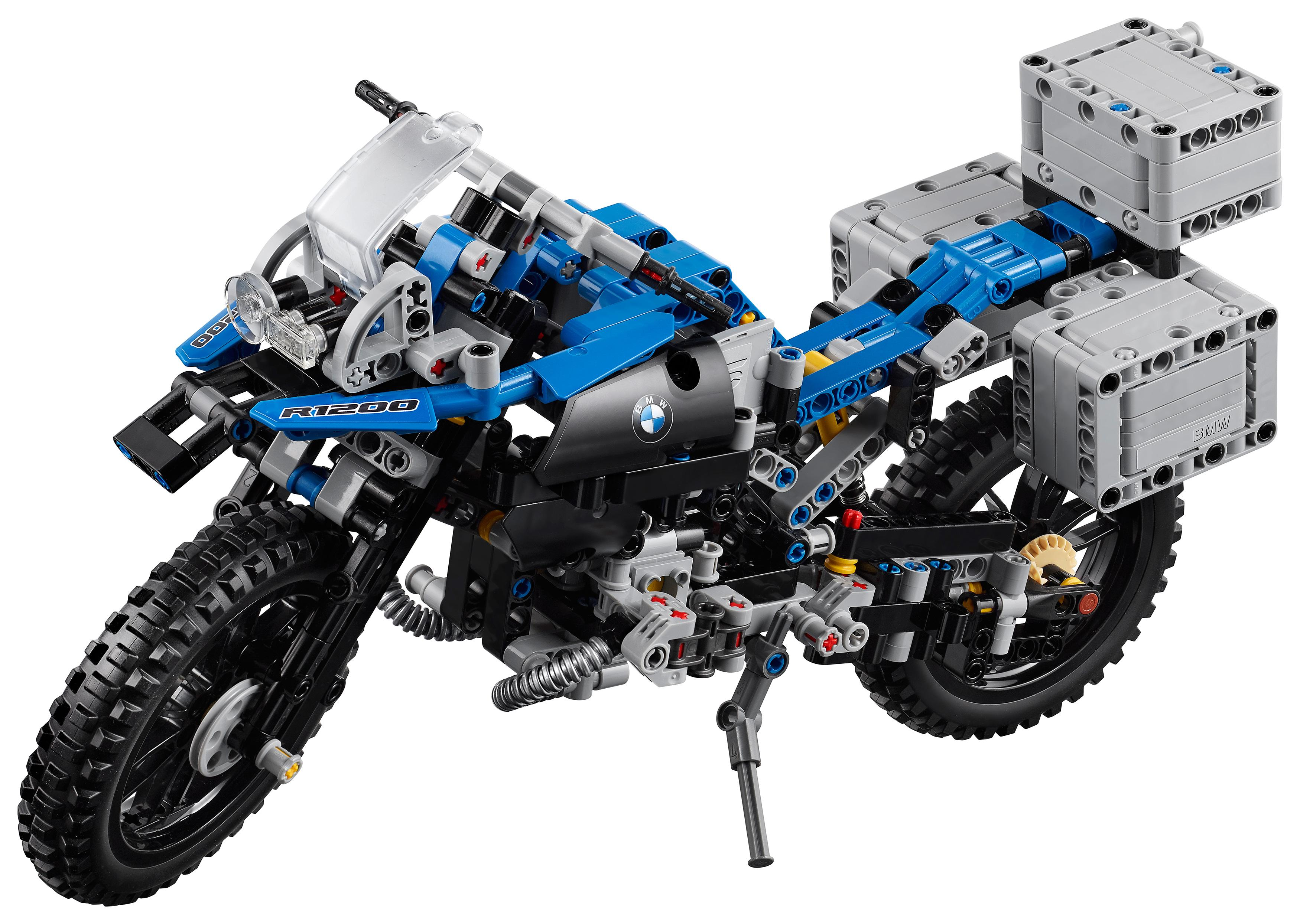 lego 42063 technic bmw r 1200 gs adventure building toy lego toys games. Black Bedroom Furniture Sets. Home Design Ideas