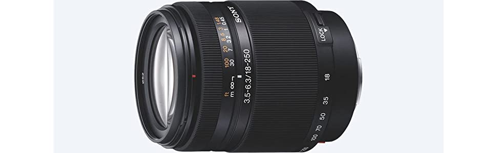 Sony, SAL18250, All in one Zoom lens, 18-250mm, camera lens
