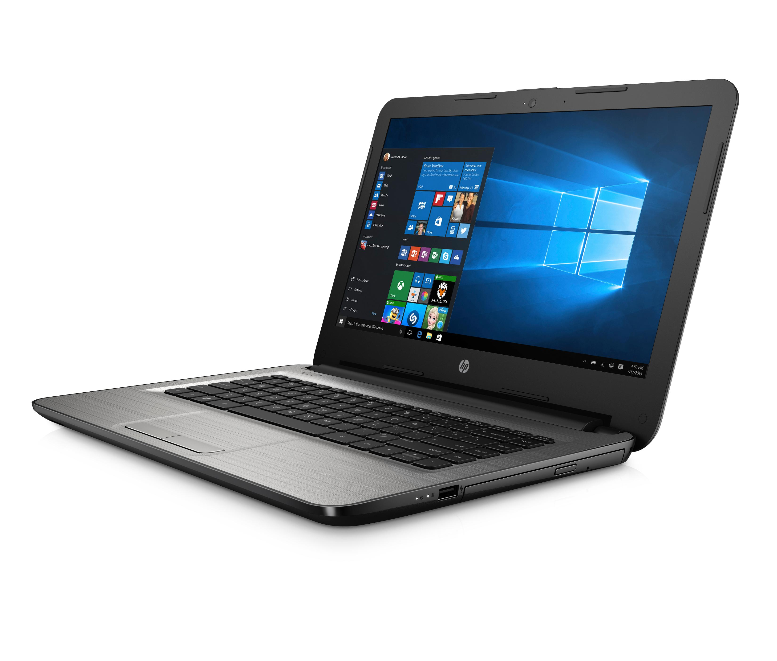 Hp 14-am003na Laptop  Turbo Silver