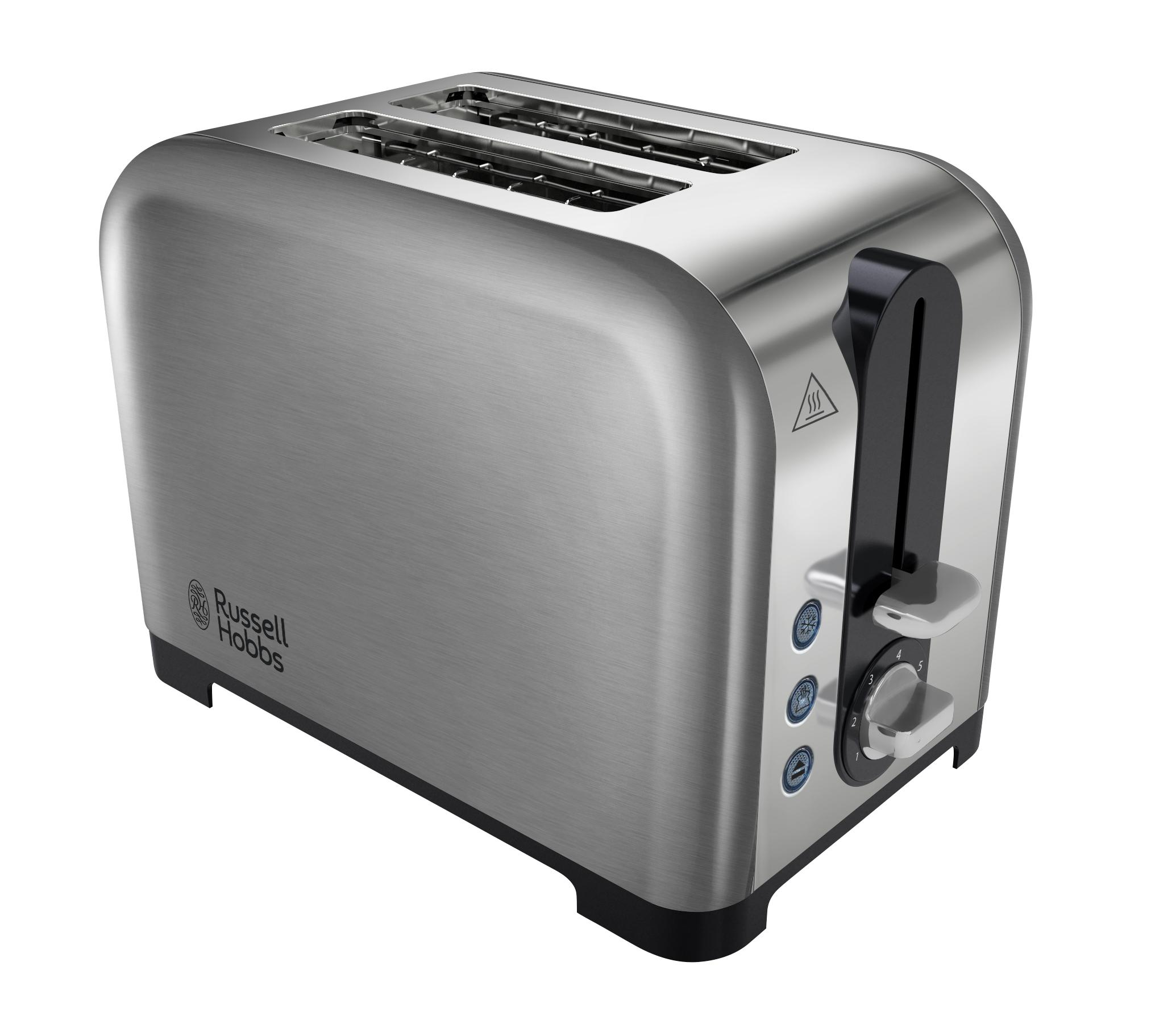 Russell Hobbs Canterbury 2 Slice Toaster Polished