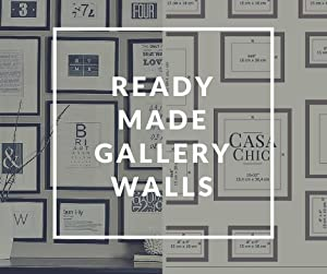 gallery wall, template