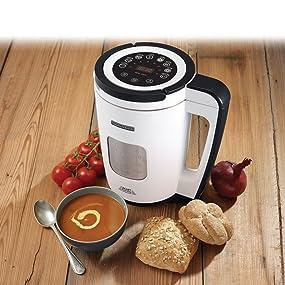 morphy richards 501020 total control soup maker 1 6 litre. Black Bedroom Furniture Sets. Home Design Ideas