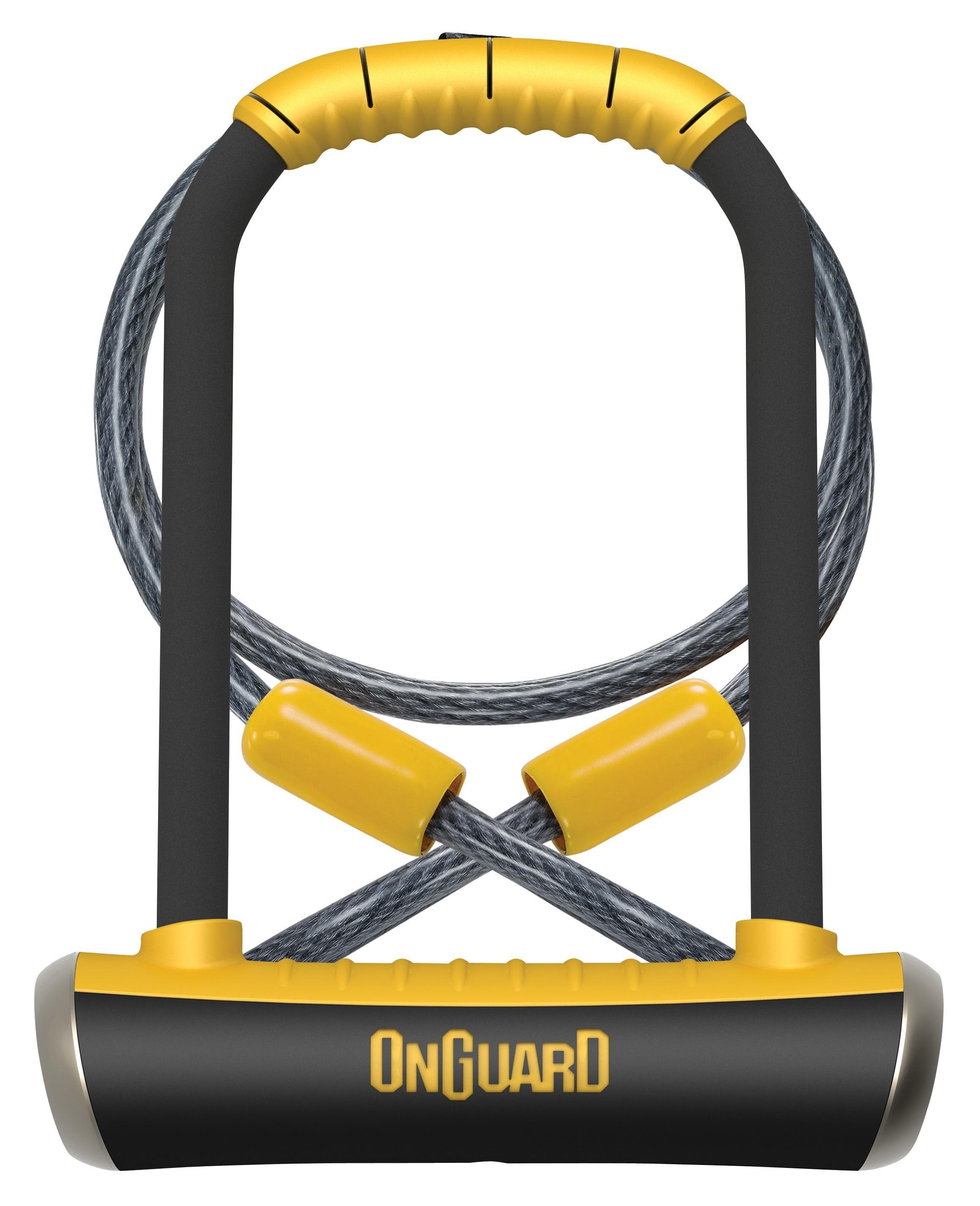 on guard 8005 pitbull keyed shackle lock 11 5 x 23 0 cm black. Black Bedroom Furniture Sets. Home Design Ideas