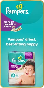 Pampers Premium Protection Active Fit nappies
