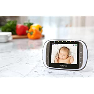 motorola mbp853 connect wi fi hd video baby monitor. Black Bedroom Furniture Sets. Home Design Ideas