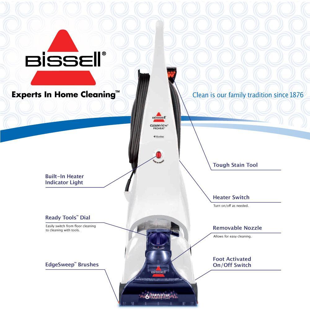 bissell carpet machine plus